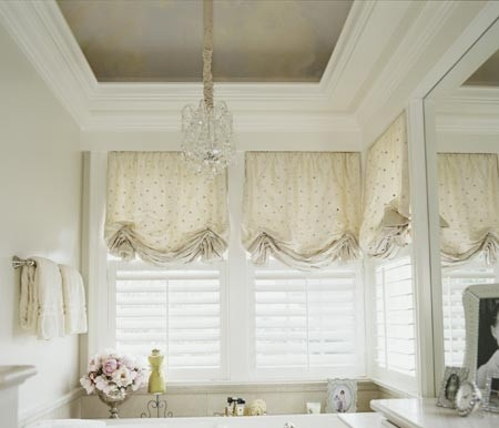 Relaxed Roman Blinds